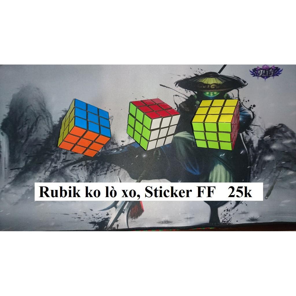Rubik 3x3x3 Không có lò xo