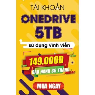 Lưu trữ trực tuyến OneDrive 5 TB