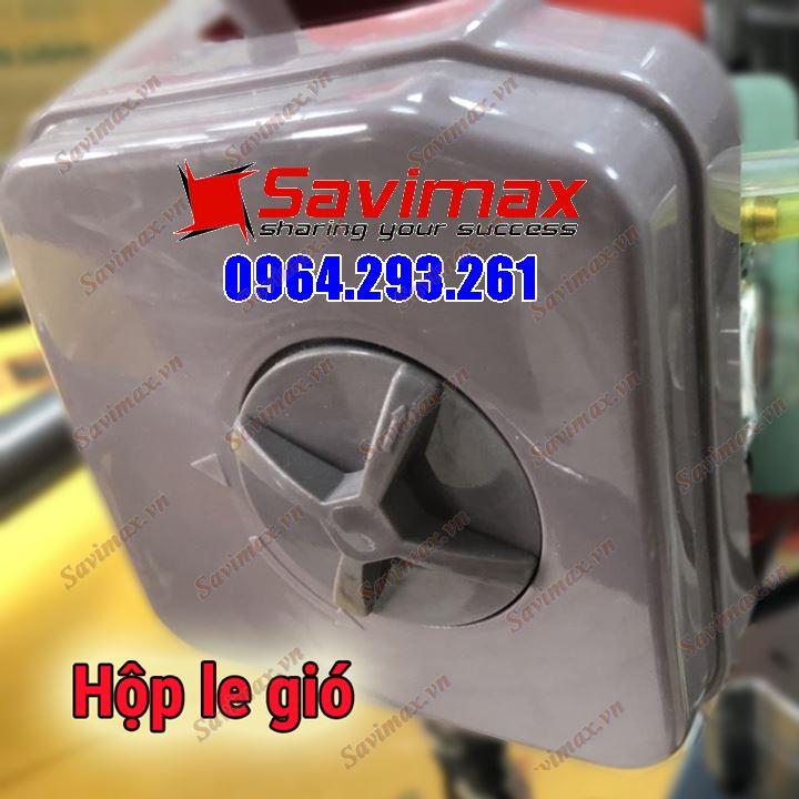 Máy khoan đất có bánh xe động cơ TB43 hiệu Savimax kèm mũi khoan 300