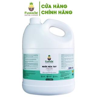 Nước rửa tay Fuwa3e hữu cơ mùi tinh dầu quýt từ 90% chế phẩm Enzyme sinh học 3.8L