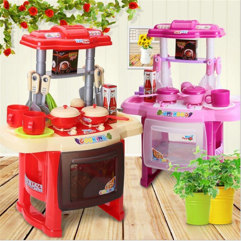 Bộ đồ chơi nhà bếp RX515-30 hoặc RX515-6: Loại lớn: Dùng pin, có đèn, nhạc
