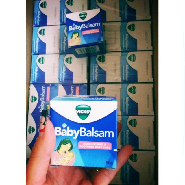 Dầu bôi ấm ngực Vick baby balsam
