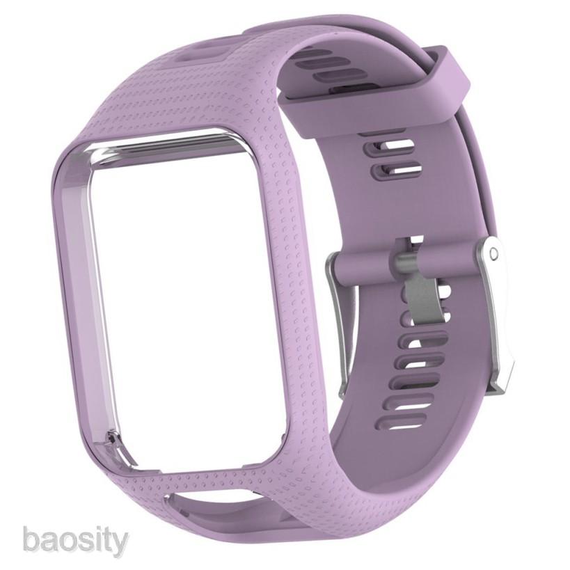 Dây đeo 34mm chất liệu silicone cho đồng hồ thông minh