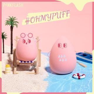 PINKFLASH Mút Trang Điểm Hình Quả Trứng Cho Cặp Đôi Miếng bọt biển trang điểm thumbnail