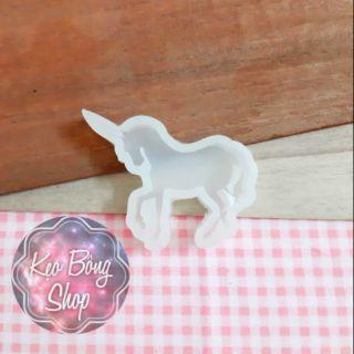 Khuôn silicon kì lân – unicorn đổ resin