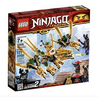 Lego Ninjago – Rồng hoàng kim siêu cấp – 70666