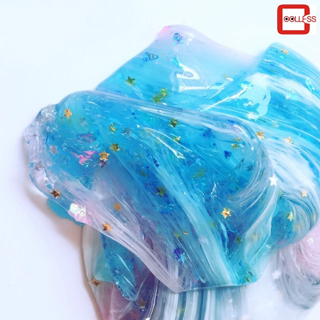 Starry Clouds Slime Colorful DIY Fluffy Sequins Crystal Mud Educational Toys Gift