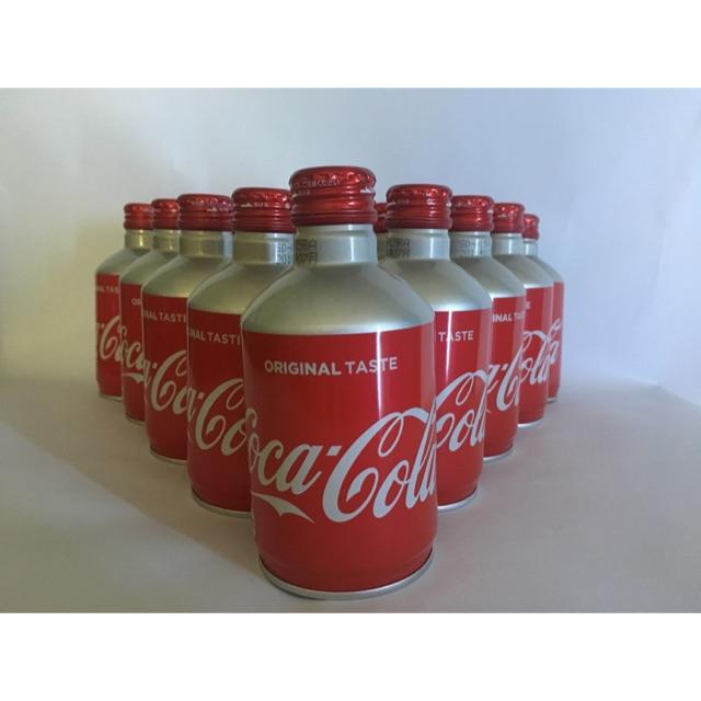 Combo 1 thùng Coca nhôm nắp vặn Nhật