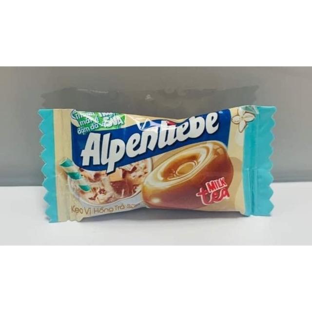 Bịch 110 viên Alpenliebe Vị Hồng Trà Sữa