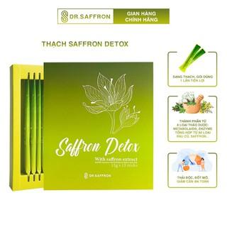 Nhụy Hoa Nghệ Tây Saffron Detox dạng thạch 1 hộp 15 gói hộp thương hiệu Dr.Saffron thumbnail