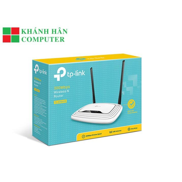 Bộ phát wifi TPLINK TL-WR841N 300Mbps Ver 14.0-BH 24 T