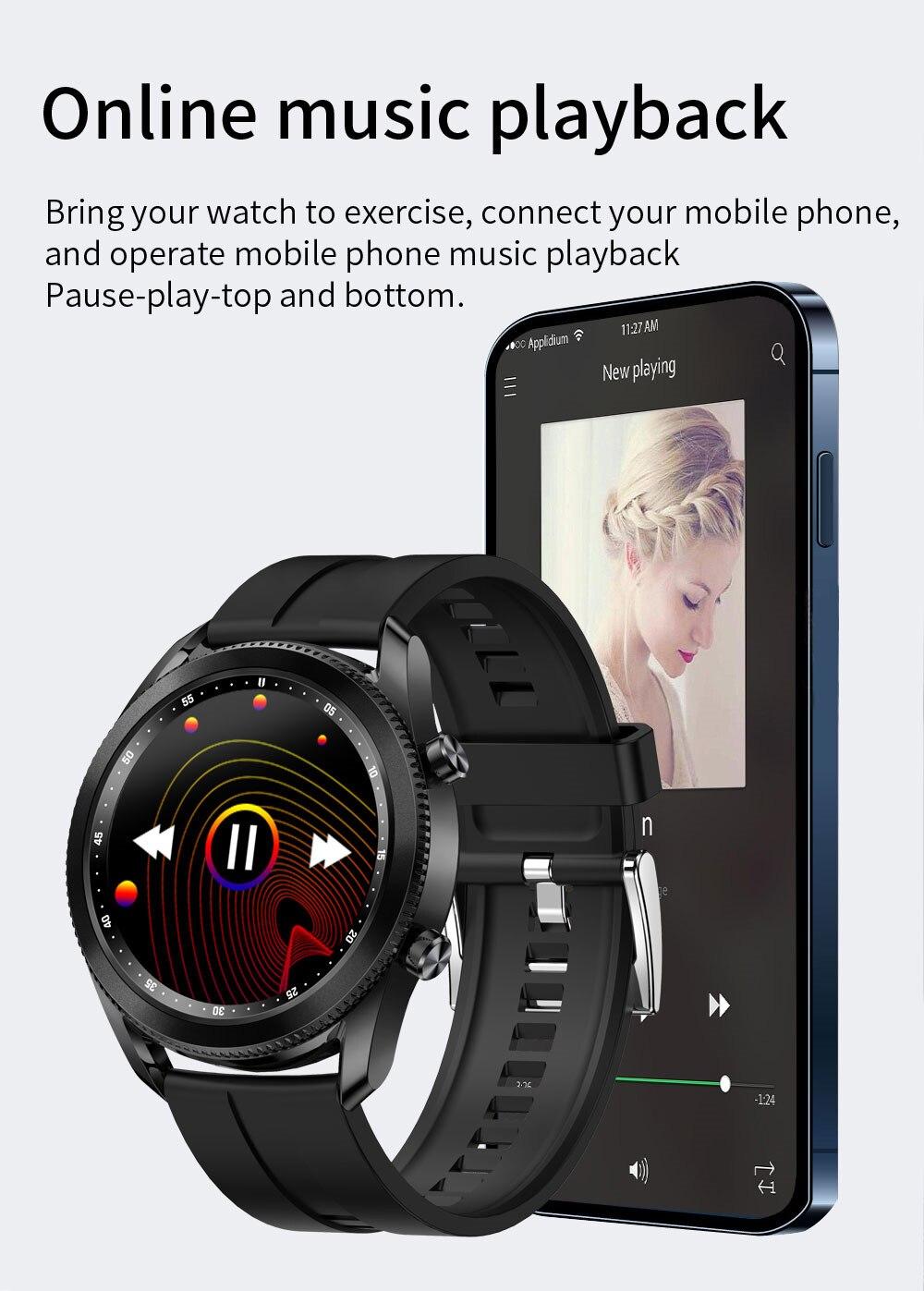ANDROID Đồng Hồ Thông Minh Diliberto Tk88 Kết Nối Bluetooth Hỗ Trợ Dự Báo Thời Tiết Và Phụ Kiện