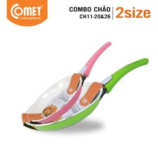 Combo 2 chảo chống dính Ceramic COMET - CH11-20&26 thumbnail