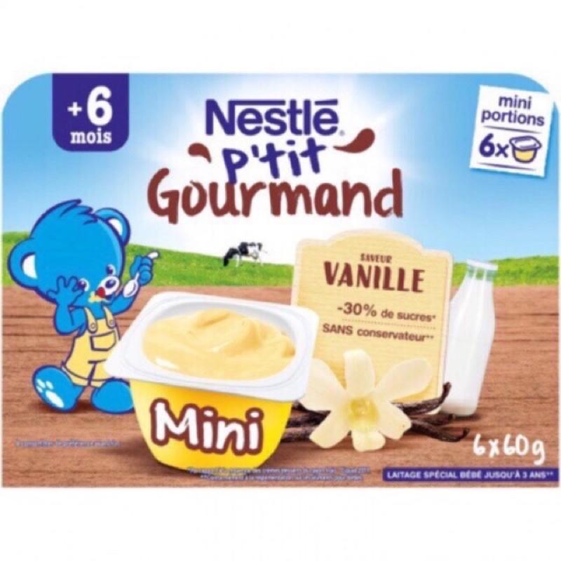 [Mã 267FMCGSALE giảm 8% đơn 500K] [DATE 2022] Váng sữa Nestle mini vỉ 6 hộp 60gr nội địa Pháp