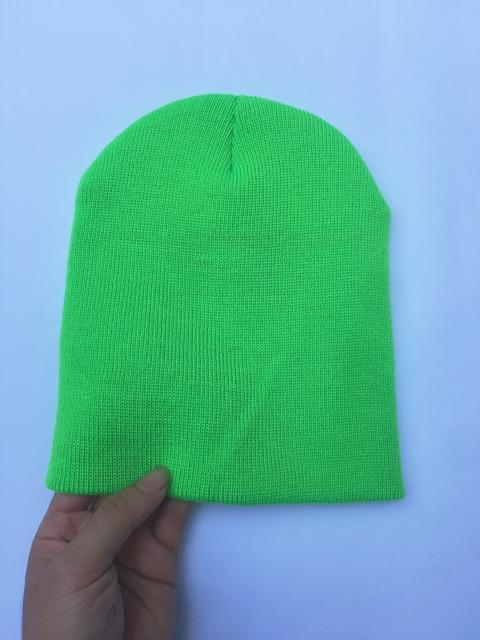 Mũ Len Beanie Trơn Dáng Ngắn 21cm ( Ảnh+Video Thật )
