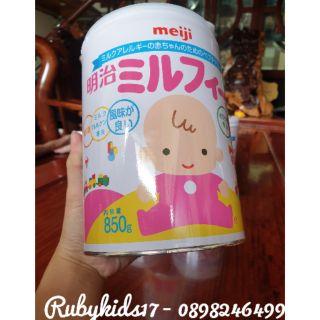 [Mã MKBCS01 hoàn 8% xu đơn 250K] Sữa Meiji Hp 850g nội địa Nhật thumbnail