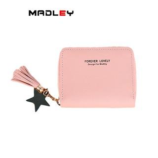 Ví nữ cầm tay mini MADLEY ngắn nhỏ gọn bỏ túi nhiều ngăn thời trang cao cấp VD414 thumbnail