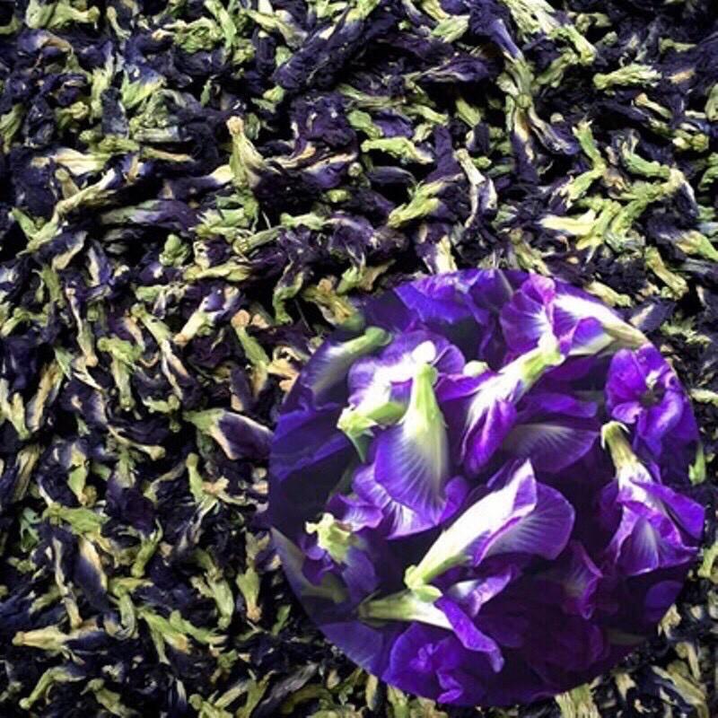 [Mã GROSALEHOT giảm 8% đơn 250K] 100gam hoa đậu biếc sấy khô