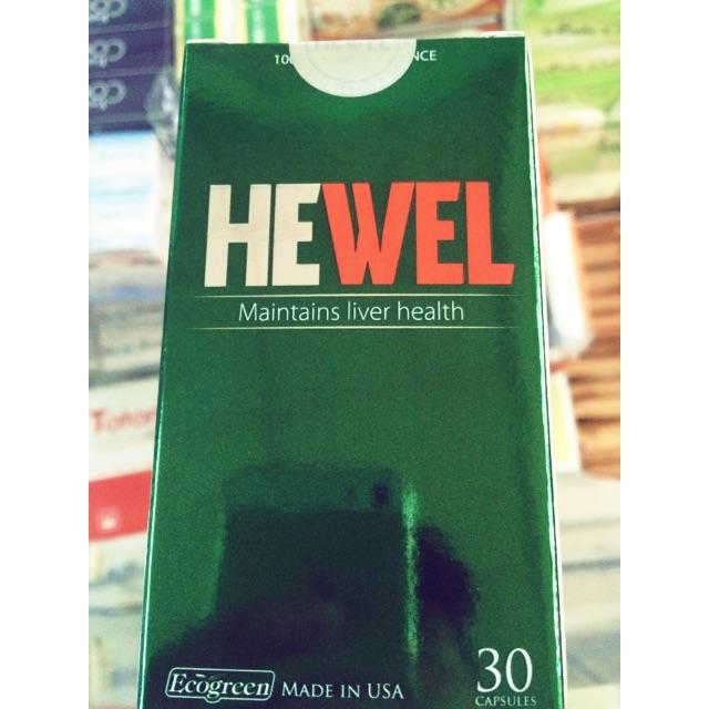 HEWEL phòng và cải thiện bệnh về gan - 2567338 , 58286002 , 322_58286002 , 245000 , HEWEL-phong-va-cai-thien-benh-ve-gan-322_58286002 , shopee.vn , HEWEL phòng và cải thiện bệnh về gan