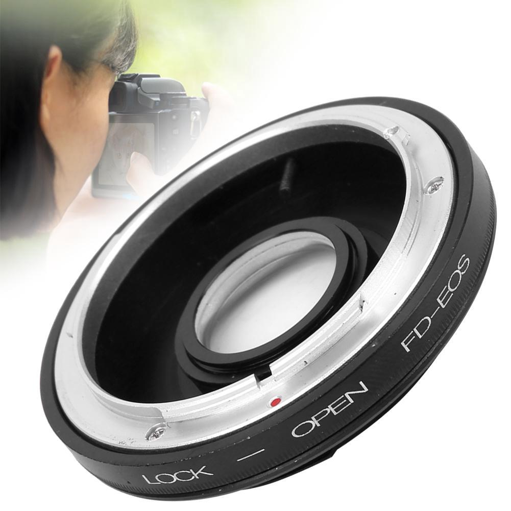 Metal Lens Mount Adapter Ring for Canon FD Lens to for Canon