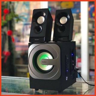 Loa Máy Tính Bosston T3600-BT Bluetooth Loa Pc Vi Tính Để Bàn Led RGB Công Suât 20W Âm Thanh Mạnh Mẽ Bass Treble Siêu Ấm