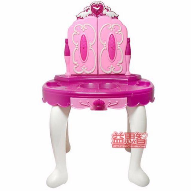 [ Siêu sale ] Cỡ lớn bàn ghế trang điểm mở cánh cửa và phụ kiện cho bé [ảnh thật]