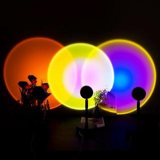 (CÓ SẴN) Đèn hoàng hôn quay tiktok , bóng led trang trí màu hoàng hôn ảo diệu, decor phòng ngủ đẹp