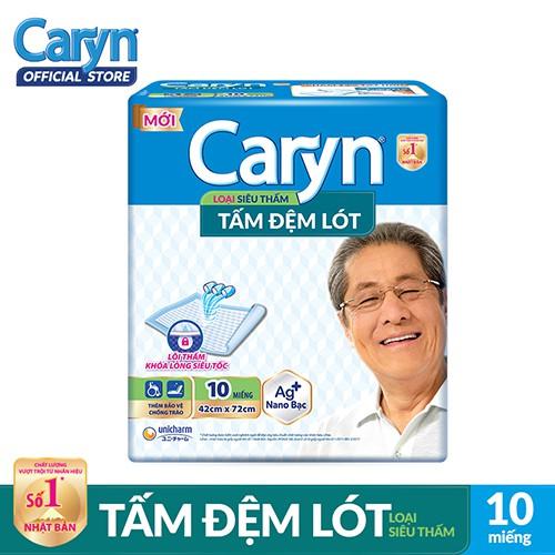 Tấm đệm lót Caryn siêu thấm và mỏng nhẹ 10 miếng _ 8934755040030 - 3560003 , 1105344673 , 322_1105344673 , 57000 , Tam-dem-lot-Caryn-sieu-tham-va-mong-nhe-10-mieng-_-8934755040030-322_1105344673 , shopee.vn , Tấm đệm lót Caryn siêu thấm và mỏng nhẹ 10 miếng _ 8934755040030