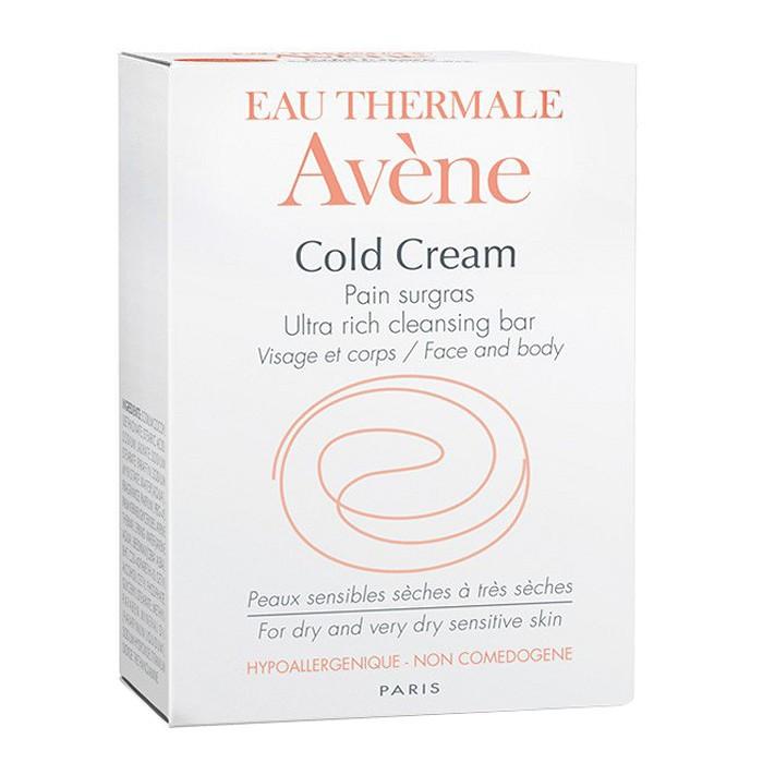 [Mua Kèm Quà 0Đ] Thanh Kem Tắm Dành Cho Da Khô Avene Cold Cream Ultra-Rich Cleansing Bar - 100g