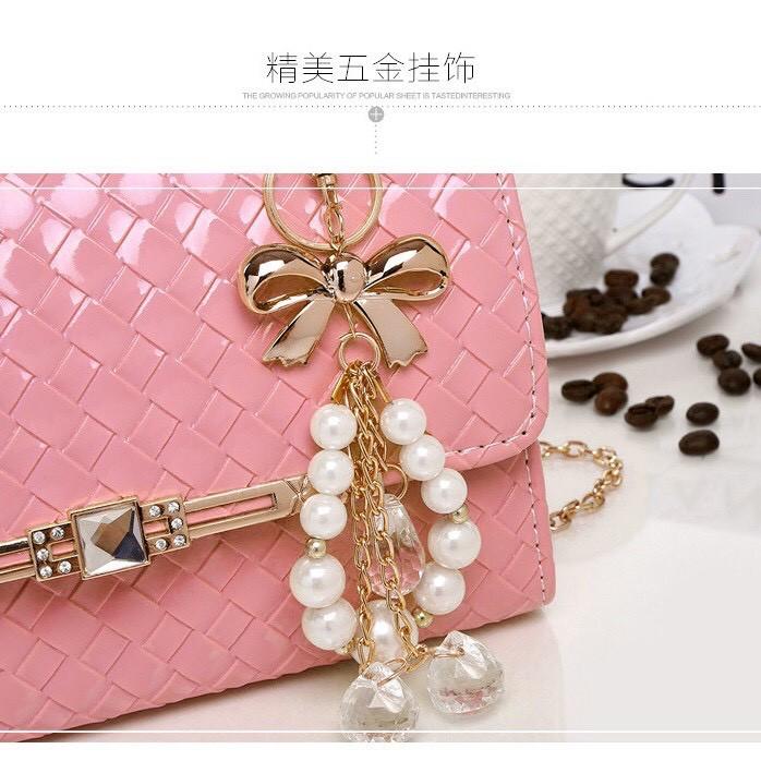 Túi xách dạng hộp phong cách Hàn Quốc, đi chơi, dạ tiệc (có ảnh thật) TXK21