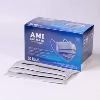 combo 5c khẩu trang y tế Ami đủ màu - Ami official 5