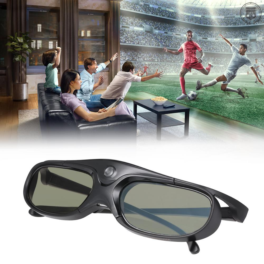 R&L GL2100 Projector 3D Glasses Active Shutter Rechargeable DLP-Link for All 3D DLP Projectors Optama Acer BenQ ViewSonic Sharp Dell