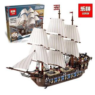 (có sẵn) bộ xếp hình lego 10210 phi thuyền của hải tặc cướp biển lepin 22001