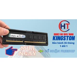 Ram DDR3 8GB Bus 1600 Kingston – Bảo hành 3 năm ( Lỗi 1 đổi 1 )