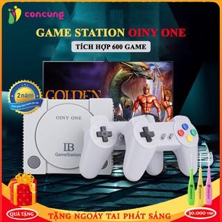 Máy chơi game, máy chơi game cầm tay 4 Nút GameStation tích hợp 600 games kết nối cổng AV Bảo Hành 2 Năm thumbnail