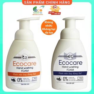 Nước rửa tay ECOCARE 250ml hữu cơ, nước rửa tay diệt khuẩn siêu nhanh dạng bọt thumbnail