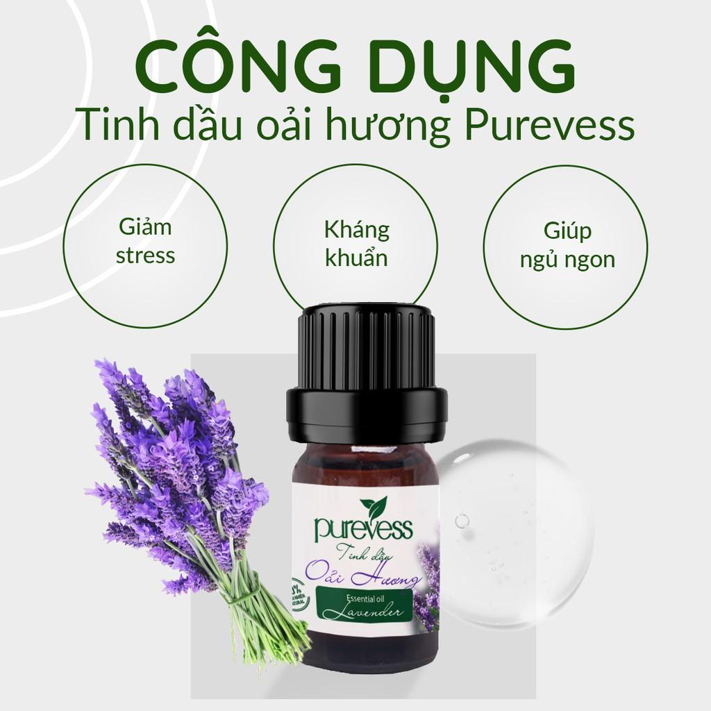 Tinh dầu Oải Hương giúp ngủ ngon PUREVESS 10ml