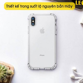 [ RẺ VÔ ĐỊCH] Ốp chống sốc iphone X Xs trong suốt, dày dặn, bo 4 góc cao cấp thumbnail