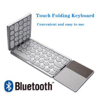 Bàn Phím Bluetooth Không Dây Gấp Được Cho Điện Thoại Máy Tính Bảng