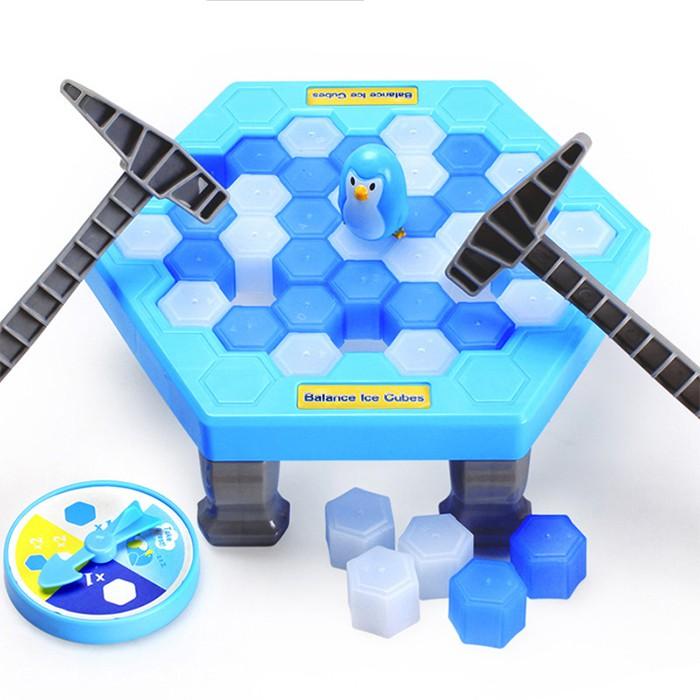 Đập Băng Chim Cánh Cụt - Trò Chơi Nhóm Vui Nhộn Dream Toy( Size Lớn)