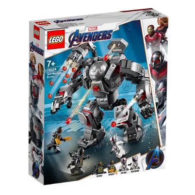 [HÀNG CÓ SẴN] Lego UNIK BRICK 76124 Avengers Endgame War Machine Buster – Bộ Giáp Của Cỗ Máy Chiến Tranh chính hãng
