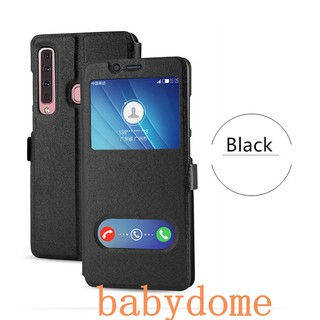 OPPO F5 F7 F9 A79 Case PU Leather Flip Cover For Answersing Call
