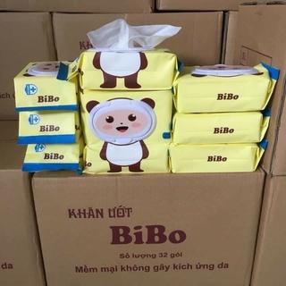 10 gói khăn ướt BIBO (100 tờ/gói)