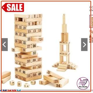Bộ đồ choi rút gỗ loại to 23cm [Shop Charming]