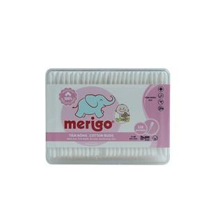 Tăm bông trẻ em Merigo (330 que hộp chữ nhật) thumbnail