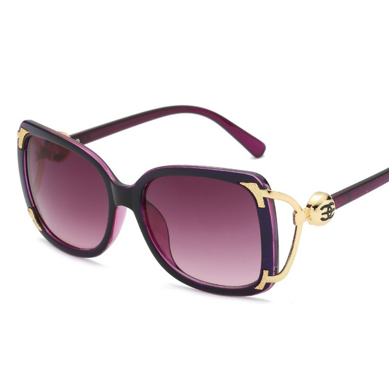 Best-selling Explosive Classic Personality Sunglasses European and American Retro Big Frame Trendy Sunglasses A