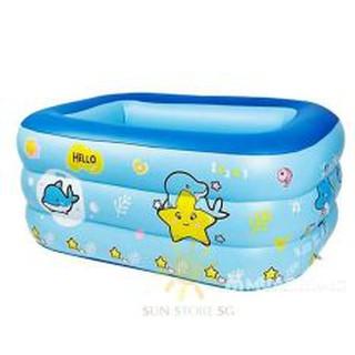 Bể Bơi Phao 1M3 Cao 3 TẦNG cho bé