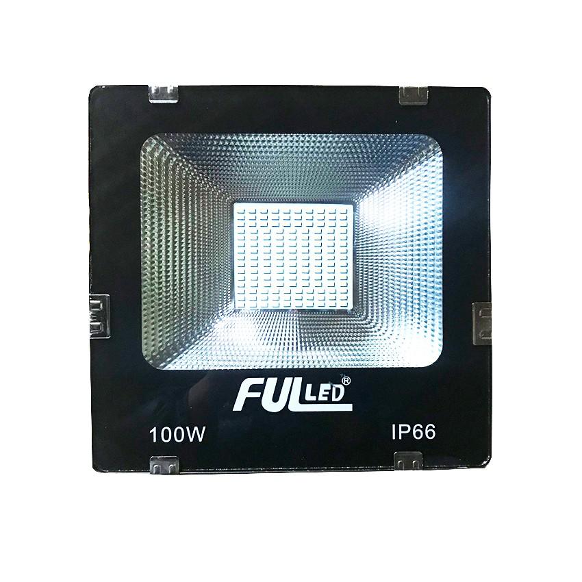 Đèn pha led 100w ánh sáng trắng(bảo hành 18 tháng)