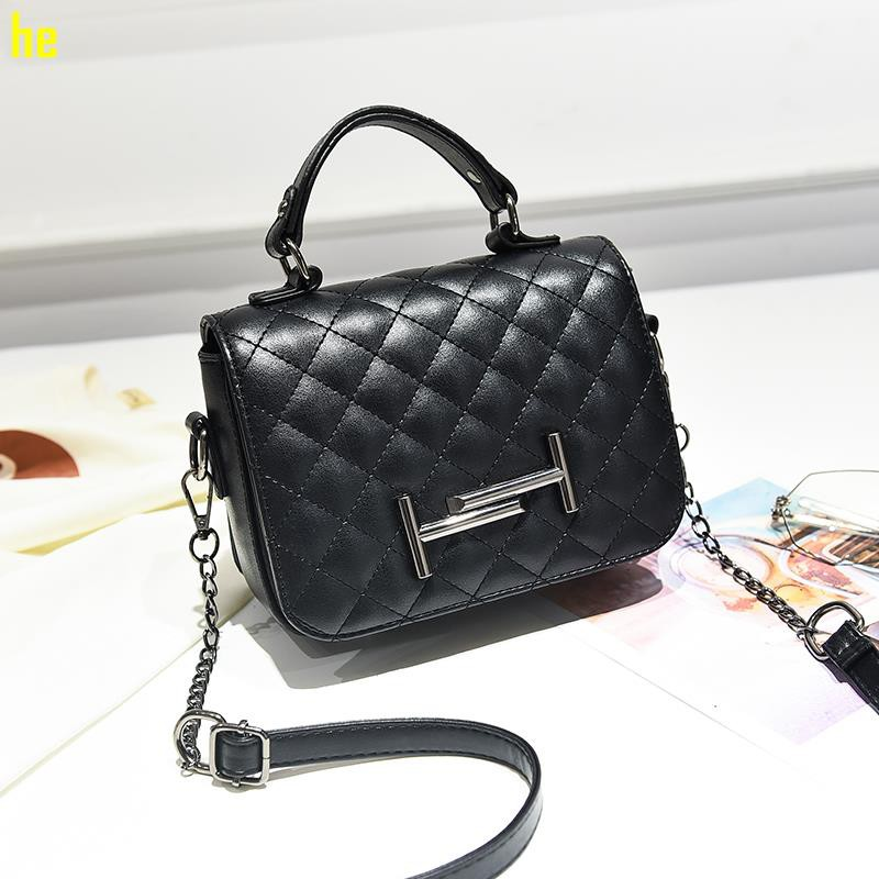New small bag female 2019 new girl bag tide Korean version of the shoulder Messe