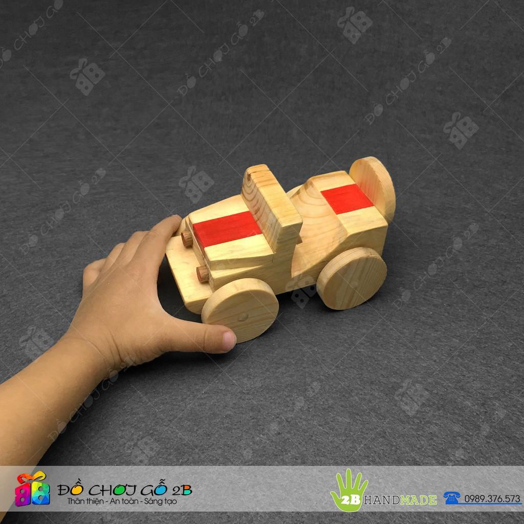 [FOLLOW 2B] Đồ chơi gỗ 100% Handmade Ô tô gỗ mô hình xe Jeep